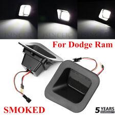 SMOKED LEN LED Rear License Plate Lights For Dodge Ram 1500 2500 3500 2003-18