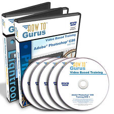 Photoshop CS6 & Photoshop Lightroom 4 training tutorials 5 DVDs 30 hrs