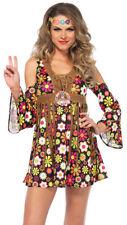 Morris Costumes Women's Hippie Starflower Dress L. UA85610LG