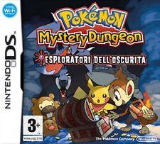 Pokemon Mystery Dungeon - Esploratori dell'Oscurità (ITA) NDS - totalmente in it