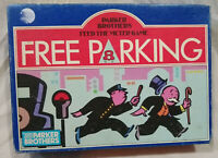 Parker Brothers Free Parking Alternative Monopoly Vintage Family Board Game-1988