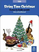 String Time Christmas 16 pieces for flexible ensemble 9780193528086 | Brand New
