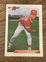 Vintage 1992 Bowman #11 TREVOR HOFFMAN RC SD Padres Reds RP HOF RARE NrMt/Mt SP
