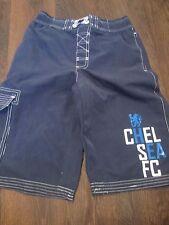 Chelsea Football Beach Shorts Size 12-13 waist  /bi