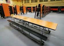 Closeout Cafeteria lunchroom Table. All 28 for only $10,000. shipping available.