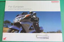 HONDA MOTO PAN EUROPEAN MOTORCYCLE CATALOGO ADVERTISING PUBBLICITA DEPLIANT