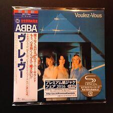Voulez-Vous by ABBA (SHM-CD, 2016, Mini-LP, LTD, Universal Music Japan)