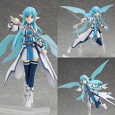 """New Anime """"Sword Art Online II"""" Figma Action Figure Series 264# Asuna ALO"""