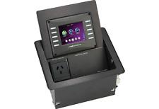 Crestron QM-FTCC-TPS4-B FlipTop Touchpanel Computer Center