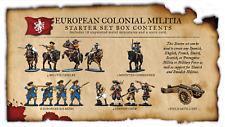 Firelock Games BNIB Blood and Plunder: European Colonial Militia Nationality Set