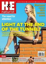 H&E naturist May 2020 magazine nudist health efficiency
