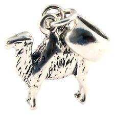camel 3d 925 sterling silber baumeln charme/carrier bead