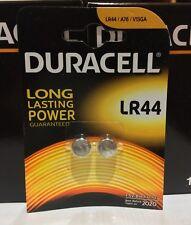 Duracell DLLR44B2 1.5v Alkaline Batteries Button Cell Twin Pack