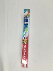 Colgate 360 Soft Toothbrush Straight with Tongue Cleaner Soft Bristle