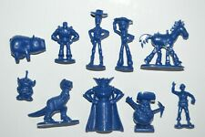 VERY RARE TOY CEREAL PREMIUM MEXICAN FIGURES TOY STORY BLUE TINYKINS