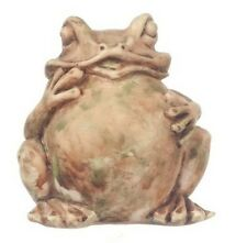Garden Toad Statue, Dolls House Miniature, Garden & Outdoor. Miniatures Frog