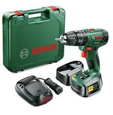 Bosch PSB 1800 LI-2 Cordless Combi Drill with Two 18 V Lithium-Ion