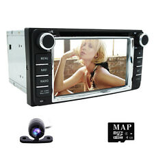 "6.2"" Toyota Car DVD Player GPS Naivgation Ipod Stereo Radio Touch Screen+Map+Cam"