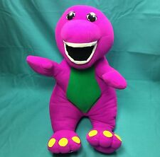 Barney Purple Dinosaur Talking Plush 1992 Playskool 71245 Interactive Toy GUC