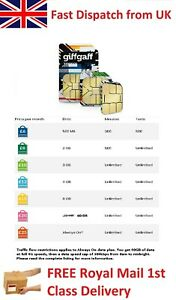 4G 3G Pepaid PAYG Micro Nano SIM Card for Mobile Phones Dongles *Bonus Credit