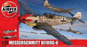Brand New Airfix 1:72nd Scale Messerschmitt Bf109G-6 Model Kit.