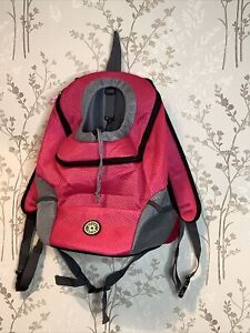 Puppy Carrier / Small Dog Ruck Sack In Fuscia Never Used.