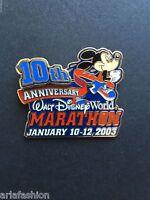 WDW - 10th Anniversary Marathon 2003 Mickey Mouse Artist Proof Disney Pin 18715