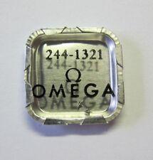 Omega 244 balance staff nos watch part #1321 (2 piece)