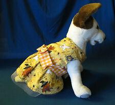 DOG HALLOWEEN DRESS - YELLOW - SZ EXTRA SMALL