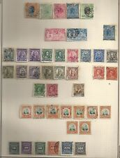 Brazil selection of 43 classic stamps  CANC/UNG  F/VF