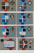 Cole Whitt 2013 Total Memorabilia Platinum Firesuit Glove Shoe patch relic 45/99
