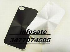 COVER CUSTODIA IPHONE 4G 4GS rigida stile alluminio