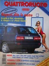 Quattroruote 489 1996 - Test Alfa 155 1.8 TS - Audi A4 1.8     [Q34]