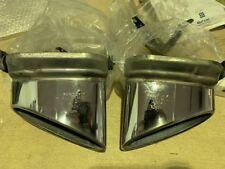 Bentley Continental GT Exhaust Muffler Tips Pair PN: 3W0253681C 3W0253682C 04/09