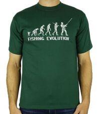 Magliette da uomo verde Russell Athletic con girocollo