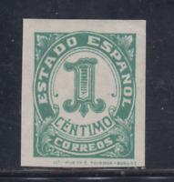 ESPAÑA (1937) NUEVO SIN FIJASELLOS MNH SPAIN - EDIFIL 814 (1 cts) - LOTE 2