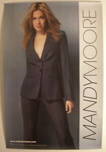 MANDY MOORE PROMO POSTER 2001 MANDY MOORE
