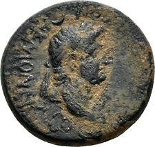 Koc Roma Coins.Phrygia. Akmoneia. Nero (54 - 68 AD).Bronze. 19mm.4,97g.