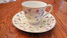 MADE IN OCCUPIED JAPAN COLLECTIBLE DEMITASSE DIAMOND CHINA TEA CUP AND SAUCER