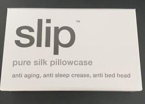 SLIP Silk Pillowcase White