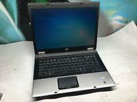 "HP 6530B Laptop / Core 2 Duo 2.0GHZ / 14"" LCD / 4GB / 160GB / Windows 7 / FAST !"