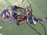 PEUGEOT 206 OEM HARNESS WIRE LOOM WITH FUSE BOX COMPLETE