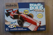 Makedo prêt à construire Formule Kit Voiture Brand New Age 6+ 35 cm Long comprend outil!