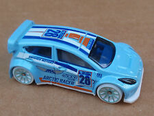 2016 Hot Wheels 12 FORD FIESTA 157/250 Snow Stormers LOOSE Light Blue