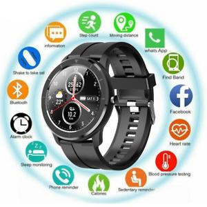 Bluetooth Smartwatch Fitness Armband Fitness Tracker Sportuhr Wasserdicht IP68