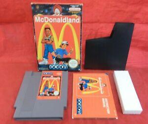 MCDONALDLAND - USED COMPLETE - NINTENDO NES - UK PAL