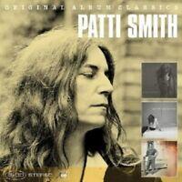 PATTI SMITH-ORIGINAL ALBUM CLASSICS (GONE AGAIN,PEACE,NOISE & GUNG HO) 3 CD NEW+