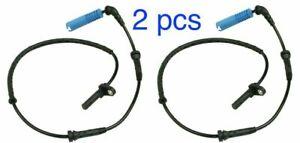 2x BMW 5/6 520i 525i 550i 630i 650i Rear Wheel ABS Speed Sensor 34526760046 Set