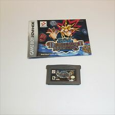 Nintendo Gameboy Advance Yu Gi Oh Dungeon Dice Monsters game cart & book