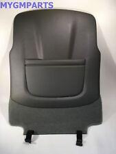 TAHOE YUKON DARK GRAY DRIVERS SEAT BACK PANEL 2015-2018 NEW OEM GM 23365180